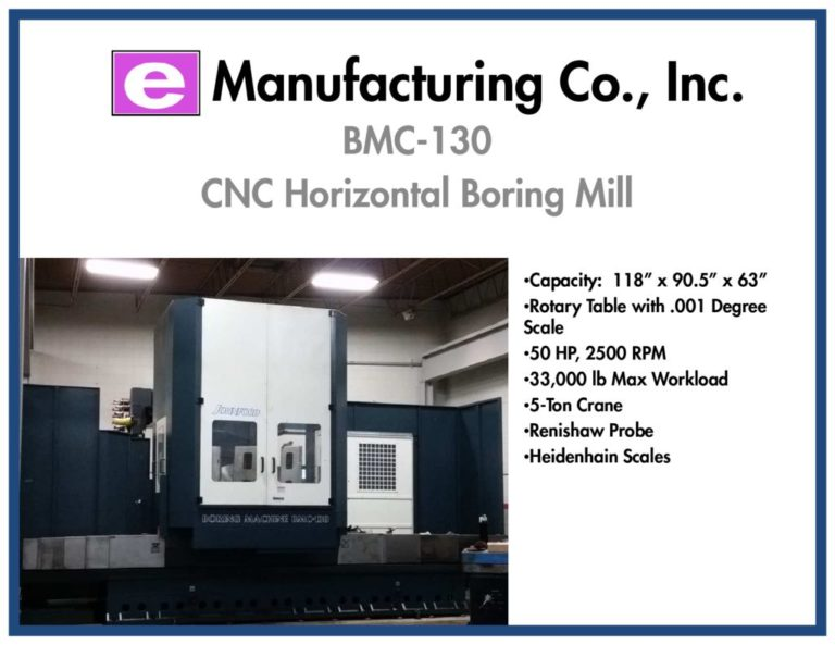 thumbnail of E Mfg Co BMC-130