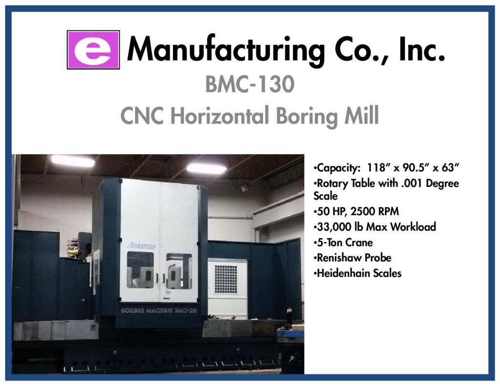 thumbnail of E Mfg Co BMC-130